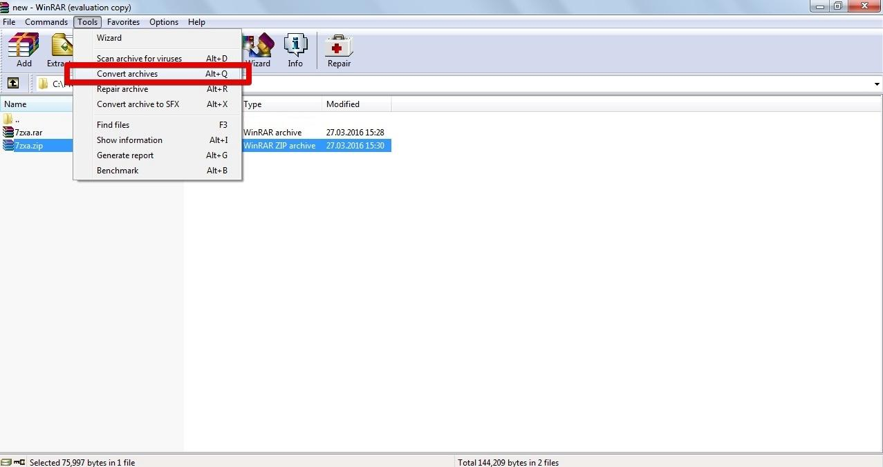 winrar converter to iso