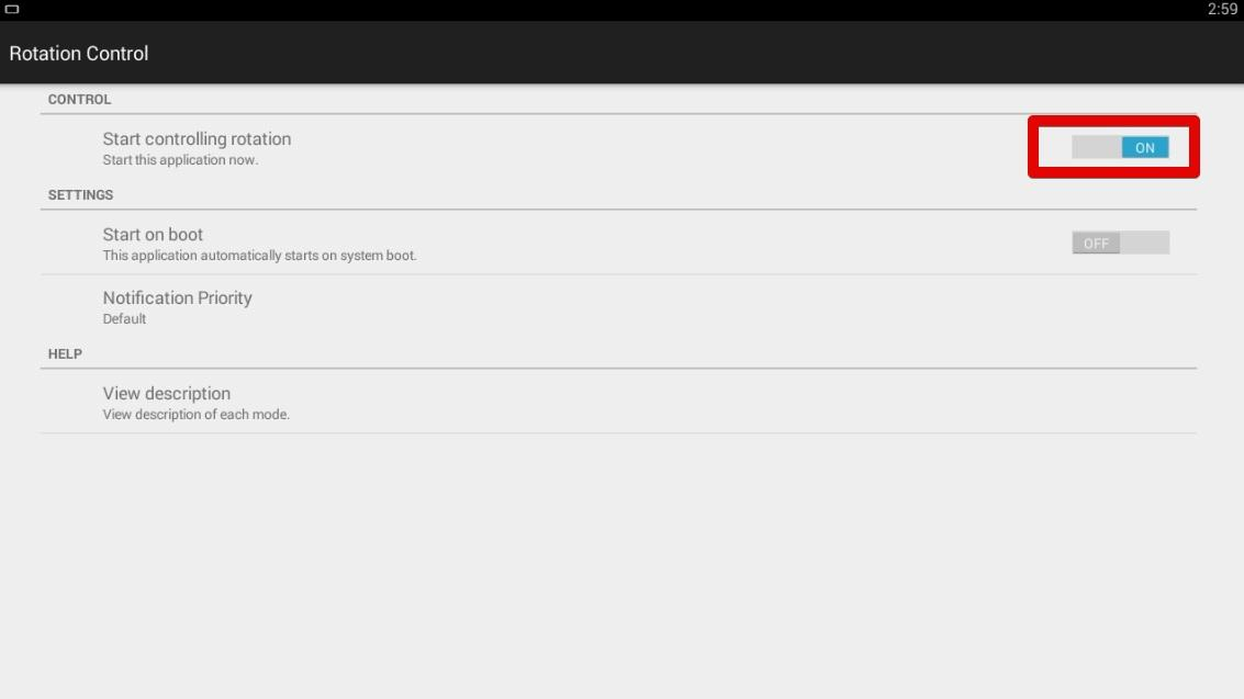 How to change a screen orientation in BlueStacks